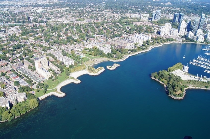 Shoreline Restoration at Mimico Waterfront Park